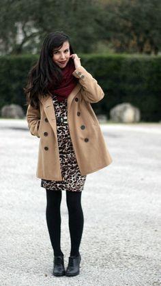 Lady in leopard. #animalprint #newneutral #stylegallery
