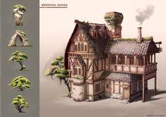 Medieval House Design 3