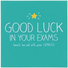 Good Luck In Your Exams Card - http://www.temptationgifts.com/product/pigment-happy-jackson-good-luck-in-your-exams-greeting-card.html £1.98