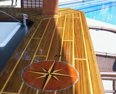 Custom Designed Bar Tops As Boat Tables And Yachts For Home RV Or Sea