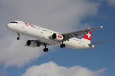 Airbus A321 HB-IOF by SwissIntlAirLines, via Flickr