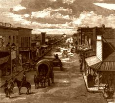 kansas towns  photos | In the numerous cowtowns of Kansas were born many of the the legends