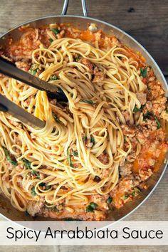 Homemade Spicy Arrabbiata Sauce