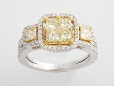 Fancy Radiant Yellow Diamond