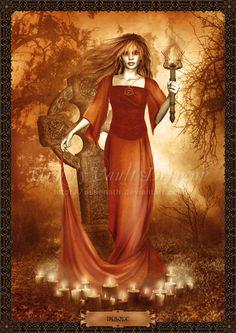 The goddess Brigid