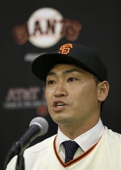 Nori Aoki finalizes $4.7M, 1-year deal with GiantsSan Francisco Giants outfielder Nori Aoki answers questions after being introduced at a news conference at AT&T Park Tuesday, Jan. 20, 2015, in San Francisco. (AP Photo/Eric Risberg) ▼20Jan2015AP|Nori Aoki finalizes $4.7M, 1-year deal with Giants http://bigstory.ap.org/article/711f1d0b831c4bf09851bcc644253f52