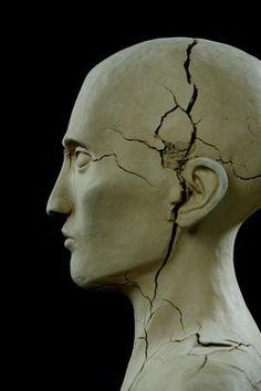 """Saatchi Online Artist Koen Wisse; Sculpture, """"head clay  2010"""" #art"""