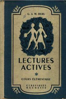 Manuels anciens: Duru, Lectures actives pour le CE1