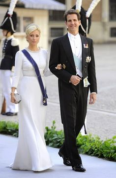 HH.RR.HH. Crown Princess Marie Chantal and Crown Prince Pavlos of Greece