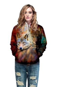Galaxy wolf hoodie with 3D double wolf print hooded sweatshirt – menlivestyle Galaxy Wolf, Wolf Hoodie, Printed Hoodies, Hooded Sweater, Cargo Pants, Hooded Sweatshirts, Christmas Sweaters, Hoods, Bomber Jacket