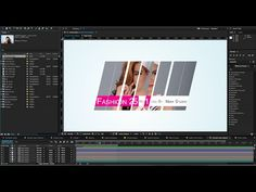 After Effects 2015 Split & Slide Mask Tutorial | Sliding Intro Presentation - YouTube