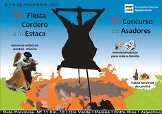 Fiesta del cordero a la estaca - Oro Verde, #EntreRios