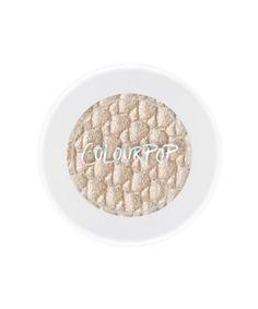ColourPop Eyeshadow in Fringe Champagne Eyeshadow, Metallic Eyeshadow, Colour Pop, Beauty Makeup, Eye Makeup, Makeup Tips, Makeup Brushes, Makeup Ideas, Colourpop Eyeshadow
