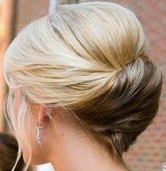 French Twist Hairstyle With Long Hair