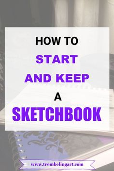 Sketchbooks are a snapshot of your art journey and are a good way to practice your drawing skills every day. Starting a sketchbook is really simple. Beginner Sketches, Drawing Tutorials For Beginners, Beginner Art, Art Tutorials, Beginner Drawing, Drawing Skills, Drawing Lessons, Drawing Tips, Art Lessons