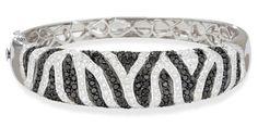 Black and White Diamond #Bracelet