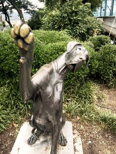 Great Dane statue in Chattanooga