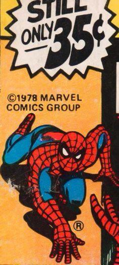 Marvel corner box art - Marvel Tales starring Spider-Man
