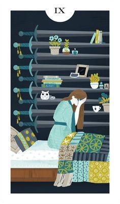 Light Grey Tarot, Alyssa Nassner -- If you love Tarot, visit me at www.WhiteRabbitTarot.com