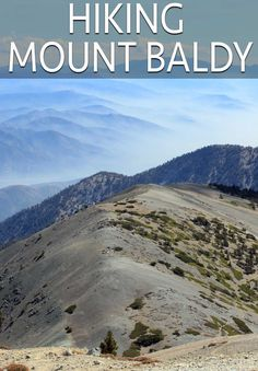 As an avid hiker I love the sheer amount of peaks, waterfalls and rivers that Southern California has to offer. While many of the easier ones are crowded and not taken care of, Mt Baldy is one of those hikes that provides a surreal experience and is a lot more accessible then you think.