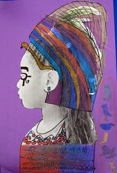 Sara Crownhart's egyptian profiles- love it