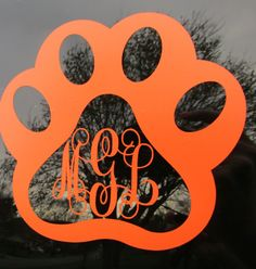 Check out this item in my Etsy shop https://www.etsy.com/listing/288239259/pawprint-monogram-car-decal-animal-lover