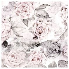 Rose Decay Vinyl Wallcovering