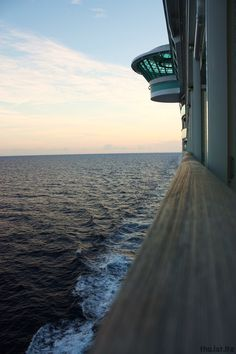 Sunset on Liberty of the Seas. Pinned from Royal Caribbean International #cruise #cruiseabout
