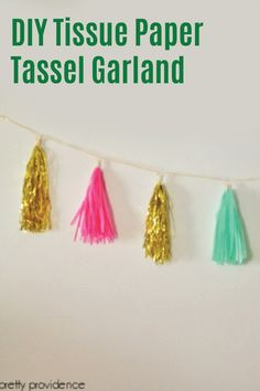 There are so many ways to celebrate special occasions  and decorate your home on a budget—this DIY Tissue Paper Tassel Garland is an easy way to add a little sparkle to your birthday party or family gathering. Enjoy every moment of your next party by stocking up on Depend® incontinence products. You'll have one less reason to worry about bladder leaks—now that's something to celebrate!