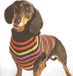 chaleco para perro tejido a palillo como hacer un chalequito para mi perro tejido a palillo OjoconelArte.cl  