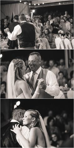 Father daughter first dance at @Dara Skolnick's Garden in Knoxville TN! Click to view more from this wedding at Dara's Garden! @Krystle Fleming Notes Entertainment-Knoxville, TN @Eugenia June Entertainment-Knoxville Wedding DJ
