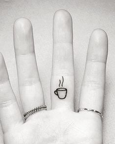 18 Tiny #tattoos For Coffee-Lovers