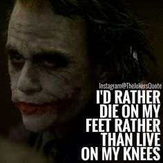 "547 Likes, 4 Comments - Joker Quotes (@thejokersquote) on Instagram: ""Follow Me (@TheJokersQuote) For Daily Motivation And Inspirational Quotes #TheJokersQuote . . .…"""