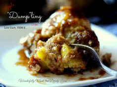 """Apple Dumpling Cake - (S) """"Everyone was thrilled with it and asking for more."""" - Judy www.TrimHealthyMama.com"""