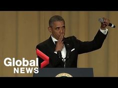 """""""Obama out:"""" President Barack Obama's hilarious final White House correspondents' dinner speech White House Correspondents, Barack And Michelle, Justin Trudeau, Quotes And Notes, Barack Obama, Moving Forward, Black History, American History, Just In Case"""