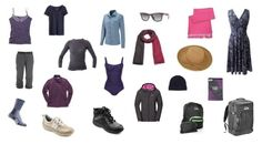 Women's Capsule Wardrobe for a Trekking Vacation | WhatToWearOnVacation.com | Clothing tips for what to pack for trekking