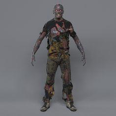 Burned Zombie by Michael Weisheim Beresin on ArtStation. Creature 3d, Mythological Creatures, Zombie Apocalypse, Mythology, Burns, Batman, Superhero, Artwork, Zombies
