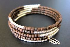 Boho Bracelet // Brown Bracelet // Peacock by ValiantJewelry, $7.99