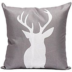 Home & Garden Light Up Cushion Cover Led Merry Christmas Elk Glow Throw Led Light Pillow Case Super Soft Pillow Case Decorative Pillowcase Refreshing And Beneficial To The Eyes Home Textile