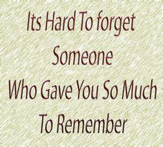 Los grandes amores no se olvidan!