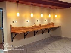 Nothing matches the warmth and beauty of natural wood countertops. Whether made from wide wood planks or natural live edge wood slabs, natural wood Wood Slab Countertop, Live Edge Countertop, Outdoor Kitchen Countertops, Outdoor Kitchen Bars, Outdoor Kitchen Design, Live Edge Bar, Live Edge Wood, Wood Bars, Wood Cabinets