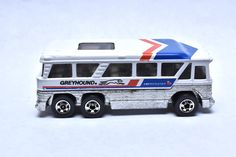 Vintage Hot Wheels AmeriCruiser Greyhound Bus, Hong Kong, Die-cast Toy Car Collection, by RememberWhenToys on Etsy Vintage Toys For Sale, Vintage Hot Wheels, Matchbox Cars, Hafiz, Hot Wheels Cars, New Hobbies, Diecast Models, Classic Toys, Cool Toys