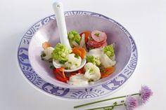 Blumenkohl-Romanesco-Salat