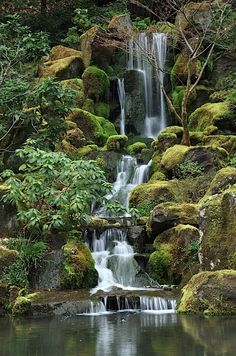 Japanese Garden, Portland, Oregon.........been there.........serene and beautiful!