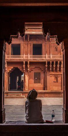 Fathepur Sikri, Agra, India                                                                                                                                                                                 More