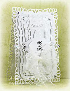A Mermaid's Crafts: Little Scrap Pieces Fun Friday - White Wedding  ~ indymermaid.blogspot.com