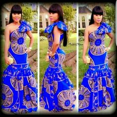25 Beautiful African Print Maxi Dresses And Gowns For a Wedding Guest Long Ankara Dresses, African Print Dresses, African Dresses For Women, African Wear, African Attire, African Women, African Prints, African Style, African Outfits