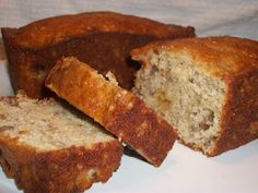 Easy Banana Bread using a Boxed Cake Mix - Around My Family Table. Have to add chocolate chips!