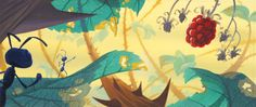 Visual Development from A Bug's Life by Tia W. Kratter