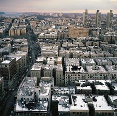 #NewYorkCity | Aerial view of Washington Heights from the New York Presbyterian Hospital, West 168th Street, Manhattan